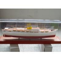 Buy cheap Ferry boat Ship Model With Glass Fiber Reinforced Plastics Hull Material from wholesalers