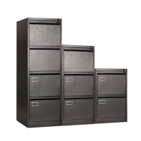 Buy cheap Home Office A4 Size Vertical Lateral 4 Drawer Filing Cabinet from wholesalers