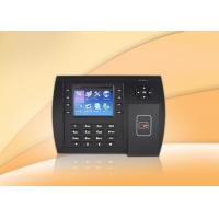 Buy cheap Professional proximity card web based biometric time attendance system /  terminal from wholesalers