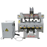 Buy cheap high precision 4 wooden legs carving used the 4 axis cnc router machine from wholesalers