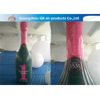 Buy cheap Good Quality OEM PVC Inflatable Champagne Bottle For Advertising product