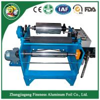 Buy cheap china modern antique stable aluminum foil roll rewinding cutting machine from wholesalers