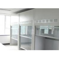 Buy cheap School Laboratory Walk In Fume Hood 800W With Toughened Glass Front Windows from wholesalers