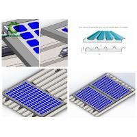 Buy cheap Engineered Metal Roof Solar Mounting Systems With Exclusive Innovation from wholesalers