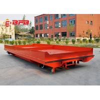 Buy cheap Heavy duty material handling motorized 10 ton battery powered electric rail transfer cart from wholesalers