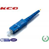 Buy cheap Single Mode Fiber Optic Connectors / Fiber Optic SC Connector Pre Assemly from wholesalers