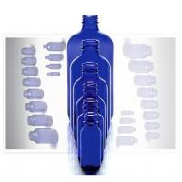 Buy cheap Boston round glass bottle with various of size and color from wholesalers