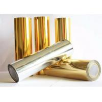 Buy cheap Chemical Resistant Polyester Laminating Film , Reliable Aluminized PET Film from wholesalers