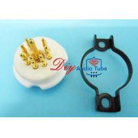 Buy cheap High End Octal Tube Socket , CNC Machined Electron Socket For 6Z4 6X4 EF95 from wholesalers