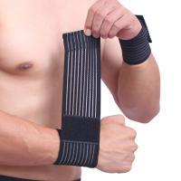 Cotton Elastic Arthritis Wrist Brace Bandage , Wrist Support For Carpal Tunnel