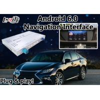 Buy cheap ES 2012-2017 Lexus Video Interface Mouse Version , GPS Navi Android 6.0 Navigation Box from wholesalers