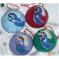 Buy cheap Painting glass ball ornaments,hand painted glass xmas ball,inside hand painted glass Christmas balls from wholesalers