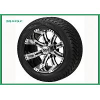 Buy cheap Turf Golf Cart Rims And Tires 12 Inc Set Of 4 Instamatic Golf Cart DOT from wholesalers