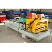 Buy cheap Roofing Glazed Step Tiles Roll Forming Machinery For IBR And Corrugated Roof Sheet from wholesalers