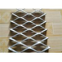 Buy cheap Stainless Steel Expanded Metal Mesh For Car Grille , Expanded Steel Mesh Sheets product