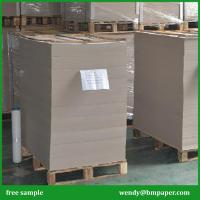 Buy cheap 1500 gsm Smooth Face Double Sides Grey Chip Board/Uncoated Board from wholesalers