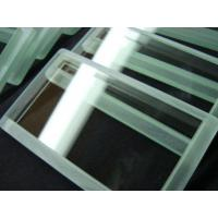 Buy cheap Customized Heat Resistant Optical Quality Glass Tempered Borosilicate Glass from wholesalers