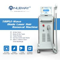 Buy cheap Professional ice soprano laser diode device hair removal triple wave medical laser on sale from wholesalers