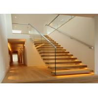 Buy cheap Floating stairs / Glass Staircase / Build Floating Staircase from wholesalers