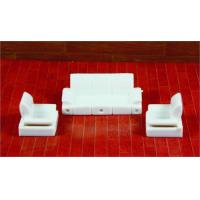 Buy cheap Architectural Scale Model Home Furnishing 1:50 ABS Living Room Sofa  from wholesalers