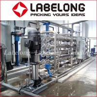 Buy cheap Small Capacity Reverse Osmosis Water Filteration System 1000L For Water Bottling from wholesalers