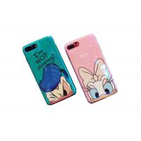 Buy cheap Bling Surface Donald Duck IMD Print TPU Apple Cell Phone Cases Lip Around The Edge from wholesalers