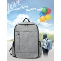 Buy cheap Large Capacity Baby Diaper Backpack With Aluminum Foil Insulation Layer from wholesalers