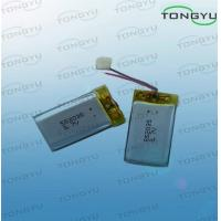 Buy cheap LithiumIron Polymer Battery 3.7V 350mAh 1.3WH With Higher Safety Performance from wholesalers