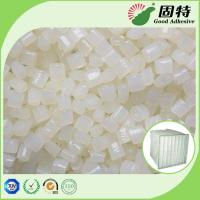 Buy cheap White granul Pocket Air Filter Making Hot Melt Pellets Great Sealing Performance EVA Hot melt Adhesive Pocket Air Filter from wholesalers