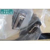 Buy cheap Male To Female Camera Link Cable Signal Low Attenuation With Mold Screw Nut product