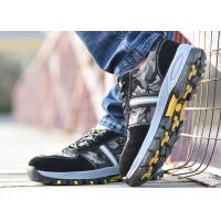 Buy cheap Mesh Lightweight Industrial Safety Shoes Slip Resistant For Outdoor Activities product