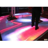 Buy cheap Full Color Indoor Dance Floor LED Display , LED Light Up Dance Floor Tiles from wholesalers