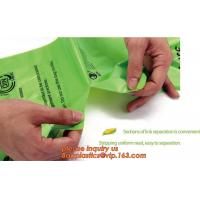 Buy cheap Hot sale Compostable disposable biodegradable plastic garbage bag, Eco compostible bio degradable bags from wholesalers