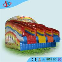 Buy cheap Red Rentals Big Inflatable Water Slides Rentals For Kids Open Air from wholesalers