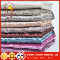 Buy cheap 20 colors available elastic velvet fabric for women dress from wholesalers