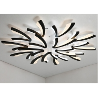 Buy cheap LED Chips 128W 1150*150mm Dimming Acrylic Ceiling Light For Living Room from wholesalers