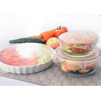 Buy cheap 3pcs Silicone Kitchen Tools Food Wrap Seal Cover Stretch Cling Film For Fresh Keep from wholesalers