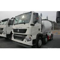 Buy cheap 8 CBM 336 HP Concrete Mixer Truck In White Color With 300L Fuel Tank from wholesalers