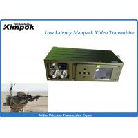 Buy cheap 5W Soldier COFDM HD Wireless Transmitter 2-3km NLOS Video Transmitter Built-in Battery from wholesalers