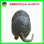 Buy cheap figurine souvenir  pangolin sculptures statues of fiberglass nature painting as decoration statue in garden theme park from wholesalers