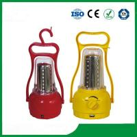 China Portable solar lantern / camping solar light with hand cranking for hot sale on sale