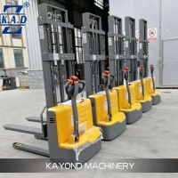 Buy cheap Electric Motor Walkie 1t 2.5m Warehouse Pallet Lift Stacker from wholesalers