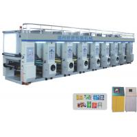 Buy cheap shopping bag Rotogravure Printing Machine for BOPP / PET / PE film label printing from wholesalers