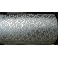 Alloy Steel Embossing Roller For Paper , Tissue , Foil And Leather With Different Pattern