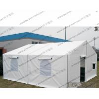Buy cheap Portable 6 Meters Width Military Canvas Tents PVC Rolling Door White Waterproof Cover from wholesalers