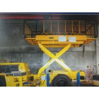 China One Layer Mining Support Equipment Scissor Lift Truck 3 Tons Lift Payload on sale