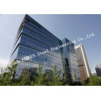 Buy cheap Aluminum Frame Insulation Double Glass Curtain Wall For Commercial Office product