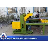 Buy cheap Easy Operation Wire Fencing Machine , Chicken Mesh Making Machine 30 Times / Min from wholesalers