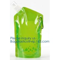 Buy cheap Customized Climbing Printed BPA Free Foldable T-shirt Shaped Bottle Collapsible Water Bottle Bag,250ml-600ml Foldable Co from wholesalers