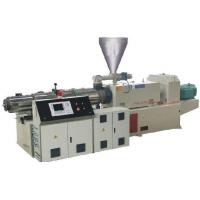 Buy cheap Automatic  Twin Screw Extruder Machine , PVC Double Screw Extruder Machine product